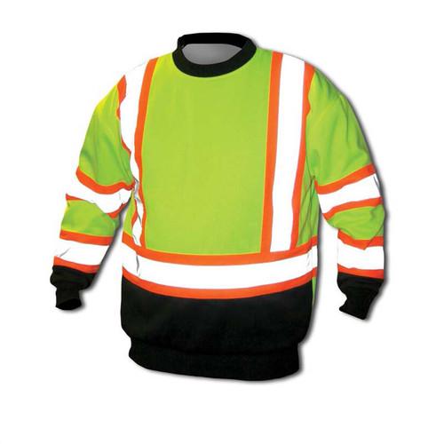 Forester Single Weight Class 3 Hi-Vis Crew Neck Sweatshirt