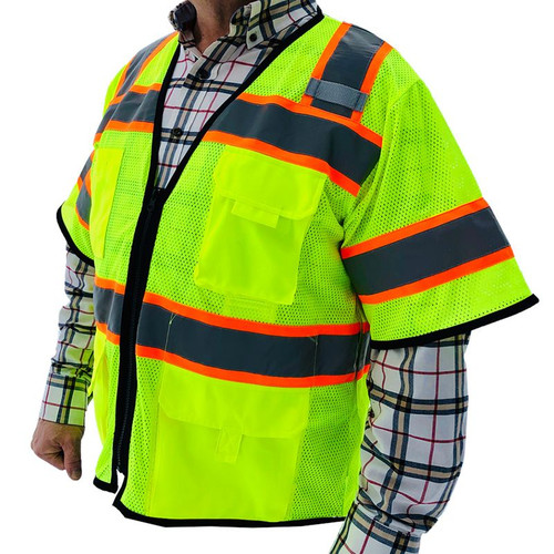 Forester Hi-Vis Class 3 Sleeved Surveyor Vest