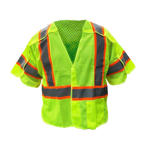 Forester Class 3 Sleeved Mesh Tearaway Vest