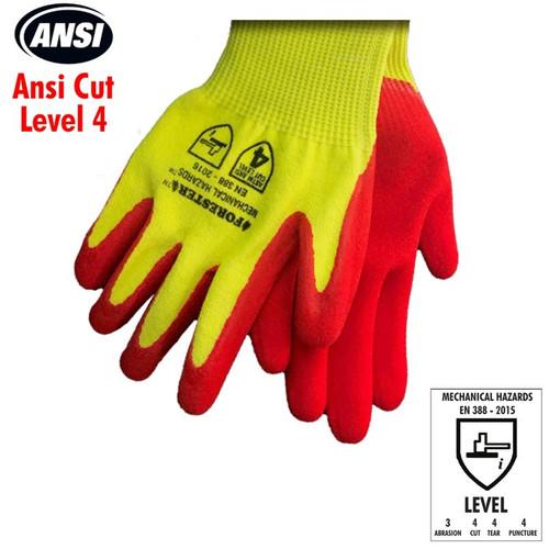 Forester Cut Resistant Nitrile Gloves - Cut Level 4