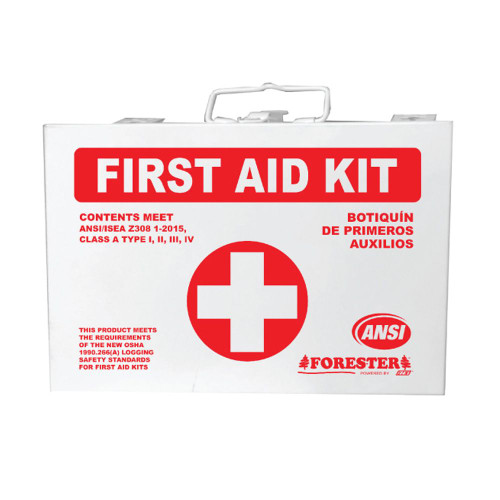 Forester First Aid Loggers Kit - Metal Case