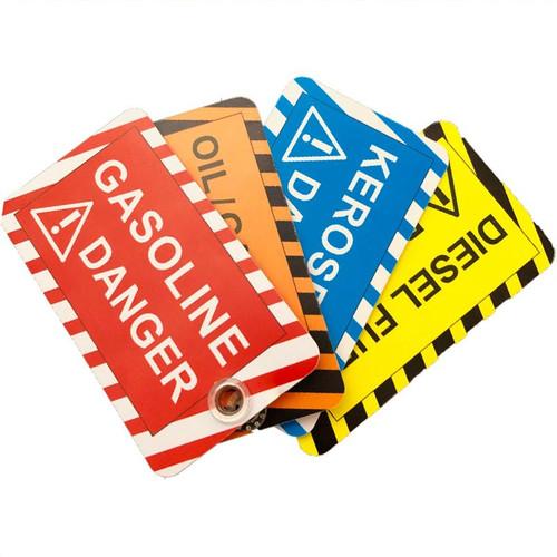 Forester Fuel Can Tags - Gasoline, Mix, Diesel & Kerosene