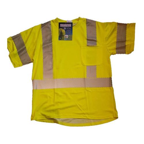 Forester ShadeTek Advanced Cooling Class 3 Shirt - Safety Green
