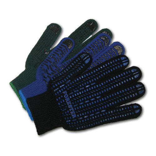 Forester String Knit PVC Grip Gloves