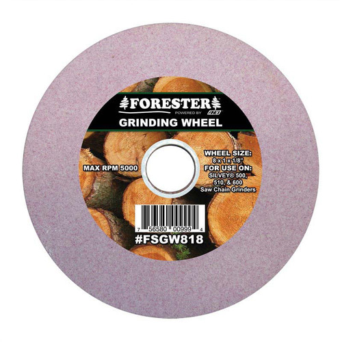 """Forester 5 3/4"""" x 12mm Arbor x 3/16"""" Saw Chain Grinding Wheel"""