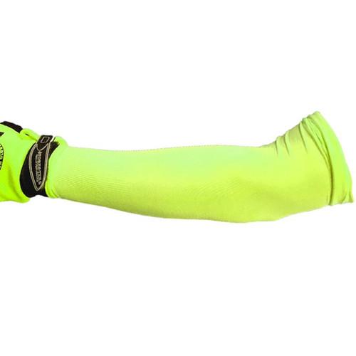 Forester ShadeTek Cooling Sleeves - Hi-Vis Green