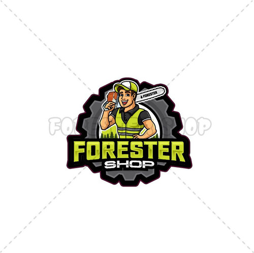 Forester Shop Logo Decal