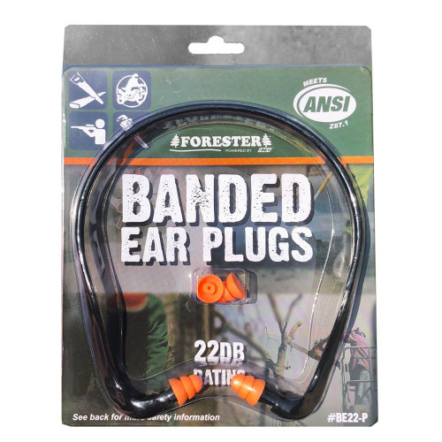 Forester Silicone Banded Ear Plugs
