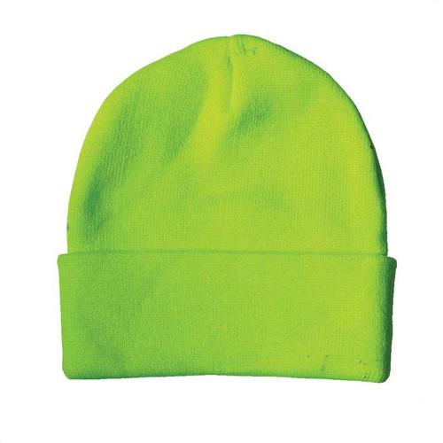 Forester Hi-Vis Green Knit Hat #00794