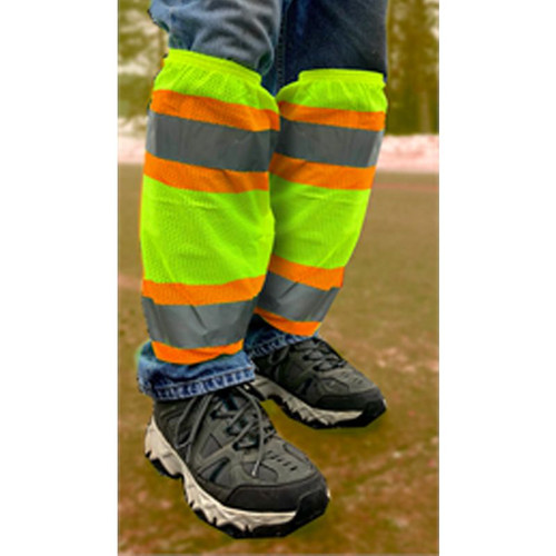 Forester Hi-Vis Leg Protection Gaiters Class E