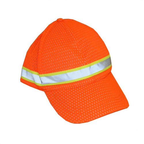 Forester Orange Hi-Vis Mesh Hat - #8560-O