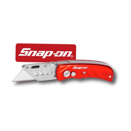 Snap-On Aluminum Handle Foldable Locking Utility Knife