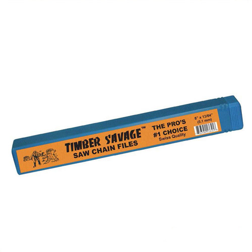 """Timber Savage 8"""" Premium Chainsaw Files - Made in Switzerland"""