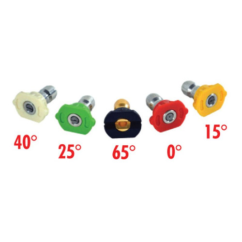Forester 5 Piece Pressure Washer Nozzle Set - 4000 PSI