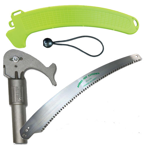 """Forester 16"""" Pole Saw Combo - Saw Blade, Head, Scabbard"""