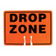 Forester Drop Zone Cone Insert Sign