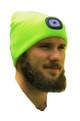 Forester Hi-Vis Beanie w/ Head Lamp