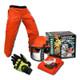 Forester Professional Cutter's Combo Bonus Pack - Chaps, Helmet, Kevlar Gloves, Glasses
