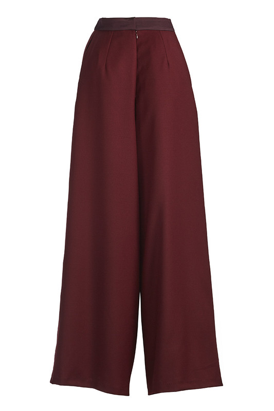 The City Trouser - Wine