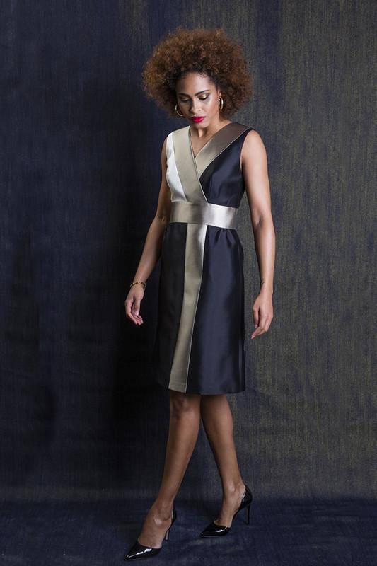 The Sinclair Dress — Noir