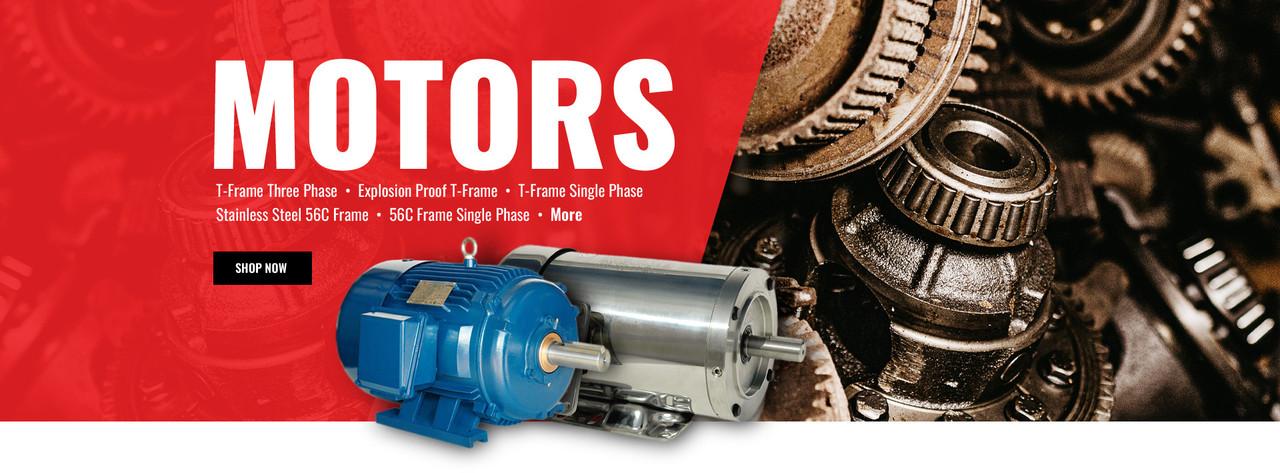 Motors - Electric Motors