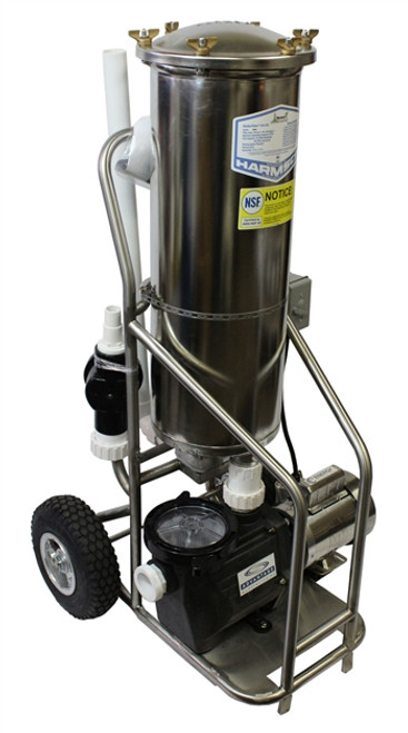 Stainless Steel Commercial Portable Vacuum System