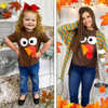 Turkey Face Thanksgiving T-Shirt