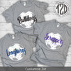 Distressed Soccer with Personalization T-Shirt