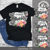 Floral White Washed Brick T-Shirt Product Image