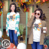 Patchwork Turkey T-Shirt Product ImageLifestyle