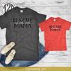 Personalized Dog Mom T-Shirt Product Image