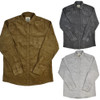 Corduroy Long Sleeve Button Up Top Product Image