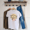 Leopard Vines Monogram T-shirt Hanging Image