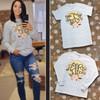 Leopard Vines Monogram T-shirt Lifestyle Image