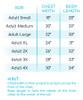 City Vibes V-Neck Size Chart
