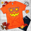 Jack O'Lantern with Leopard Glasses Flat