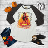 I Put A Spell on You Vintage Raglan Flat
