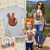 Peace Sign Turkey Thanksgiving T-Shirt  Hotbuy Product Image