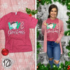 Love Christmas Festive T-Shirt Product Image