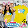 Hop Bunny Easter T-Shirt  Product Image