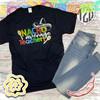 Nacho Average Teacher T-Shirt Flat
