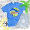 Here Comes the Sun T-Shirt Flat Lay