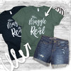 The Struggle is Real T-Shirt flat lay