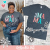 Est. Mama Custom T-Shirt Product Image