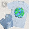 Make Everyday Earth Day T-Shirt Flat