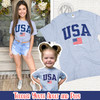 Sporty USA Patriotic T-Shirt Product Image