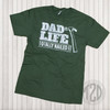 Dad Life Totally Nailed It Graphic T-Shirt Flat