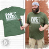 Dad Life Totally Nailed It Graphic T-Shirt Product Image