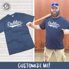 Custom Est. Dadster Graphic T-Shirt Product Image