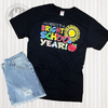 Here's to a Bright School Year Teacher T-Shirt Flat